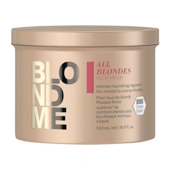 Schwarzkopf BlondMe Restore Bonding Mask Rich All Blondes 500 ml