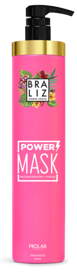 Braliz Power Shock Mask 500ml