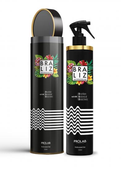 Braliz Spray για ίσιωμα μαλλιών 500ml