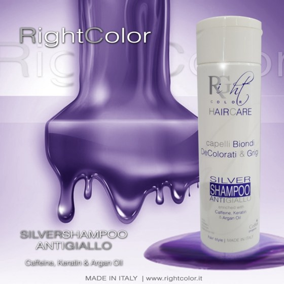 Right Color Silver Shampoo 250ml