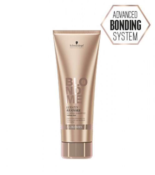 Schwarzkopf BlondMe Restore Bonding Shampoo All Blondes 250 ml
