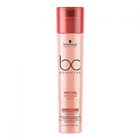 Schwarzkopf Bonacure Repair Rescue Peptide  Deep Nourishing Shampoo 250ml
