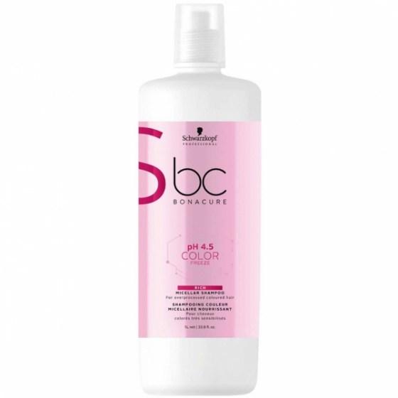 Schwarzkopf Bonacure Color Freeze Rich Shampoo 1000 ml