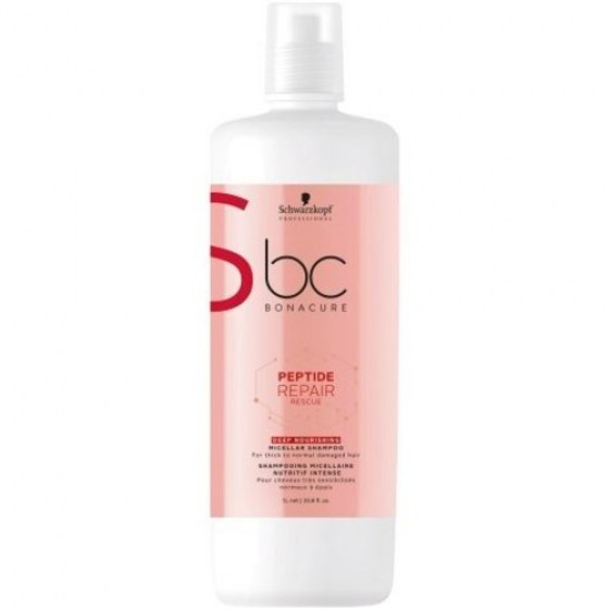 Schwarzkopf Bonacure Repair Rescue Peptide Deep Nourishing Shampoo 1000ml