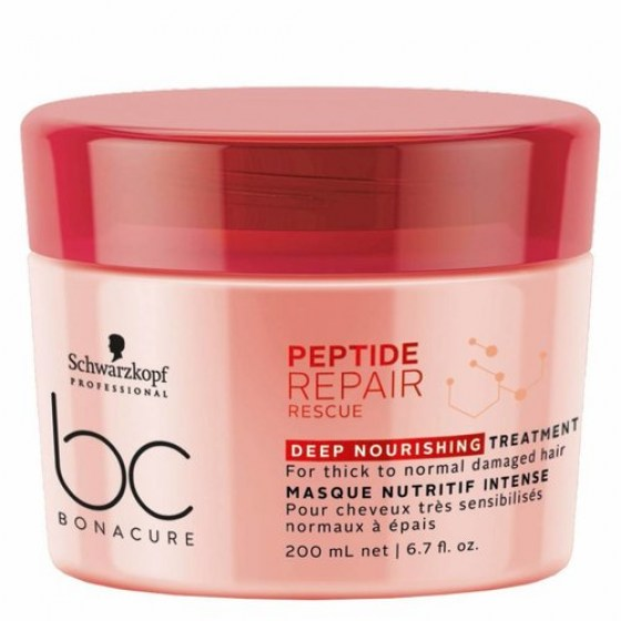 Schwarzkopf Bonacure Repair Rescue Peptide Deep Nourishing Treatment 200ml