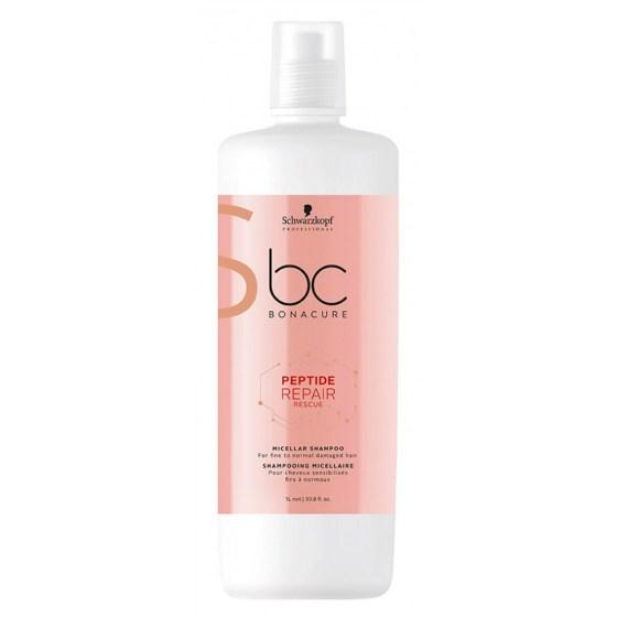 Schwarzkopf Bonacure Repair Rescue Peptide Shampoo 1000 ml