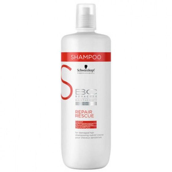 Schwarzkopf Bonacure Repair Rescue Deep Nourishing Shampoo 1000ml