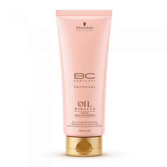 Schwarzkopf Bonacure Rose Oil Miracle Shampoo 200ml