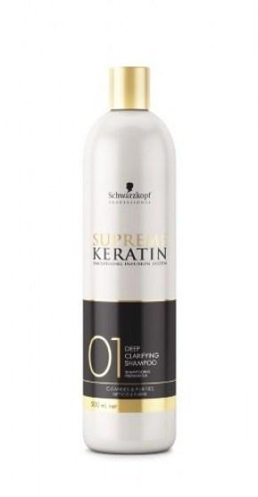 Supreme Keratin clarifying shampoo 500ml